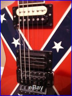 Washburn USA Dimebag Darrell Dime 3 Confederate Autographed Guitar