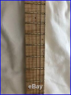 Warmoth Soloist/Strat Guitar Suhr Dimarzio Sustainiac Floyd Rose Graphtech