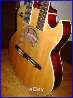 Washburn EA220 Double Neck Guitar Custom Shop RARE