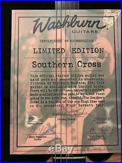 Washburn USA custom shop dime souther cross